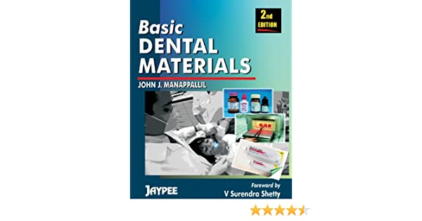 Manappallil Basic Dental Materials Pdf