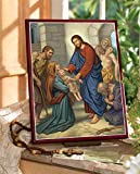 Monastery Icons Christ The Divine Healer Mounted