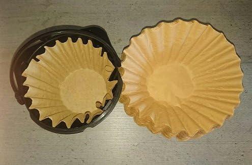 700 x Kleine filtro de café cesta marrón 80/200 filtro para K de ...