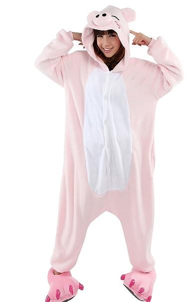 Bluebell Retail - Pijama de una pieza - para hombre Rosa rosa Small