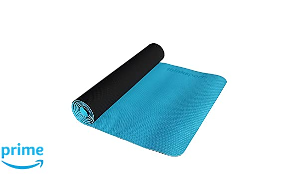 Amazon.com: THINKSPORT Yoga Mat Blue, 1 EA: Health ...