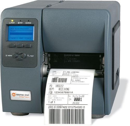600 Dpi Thermal (Datamax I-Class Mark II I-4310e - Label printer - monochrome - direct thermal / thermal transfer - Roll (11.8 cm) - 300 dpi - up to 600 inch/min - parallel, USB, LAN, serial)