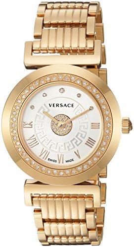 Versace-Womens-P5Q84SD002-S080-Vanity-Precious-Analog-Display-Swiss-Quartz-Gold-Watch