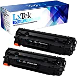 LxTek Compatible Toner Cartridge Replacement Set For HP CF283A 83A (2 Black) For use in HP LaserJet Pro MFP M201dw M201n M125a M125nw M127fn M127fw M225dn M225dw Printer