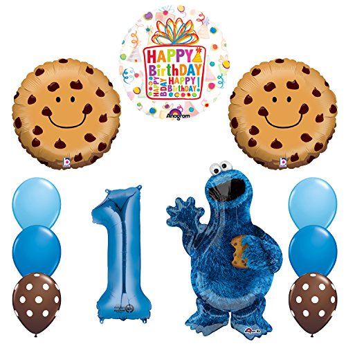 NEW!  (Cookie Monster Party Supplies)