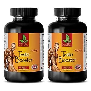 Supplements for men sex - TESTO BOOSTER 855mg - Testosterone booster for men over 45 - 2 Bottles 120 Capsules