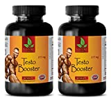 Herbal testosterone booster for men - TESTO BOOSTER 855mg - Testosterone booster for men and women - 2 Bottles 120 Capsules