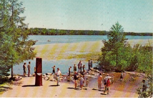 Vintage Used Postcard Headwaters Of The Mississippi River Itasca State Park Minnesota (Postcard Mississippi)