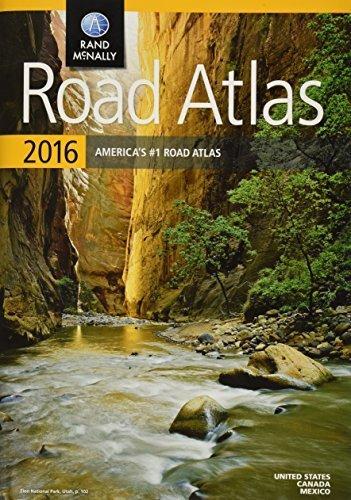 (Rand McNally 2016 Road Atlas (Rand Mcnally Road Atlas: United States, Canada, Mexico) by Rand McNally (2015-04-17))