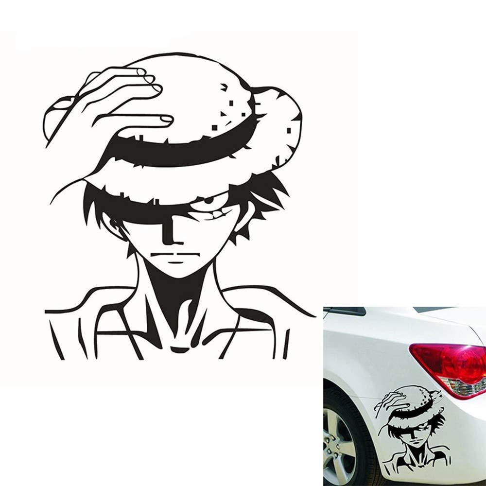 One Piece Handsome Monkey D Luffy Etiqueta engomada del coche ...