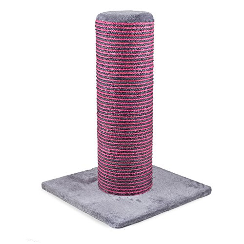 Ancol Pet Products Acticat Fat Boy Scratch Post (One Size) (Pink/Gray)