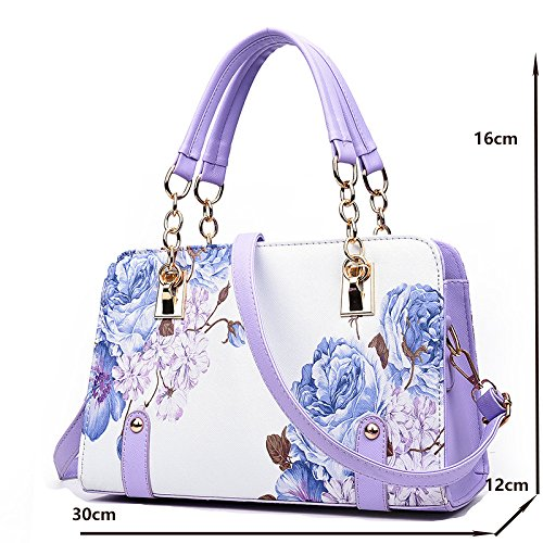 Bag Kyokim Trend Bag Female Bag Bag Diagonal Of Female 2018 Shoulder Stereotype Purple New rv4rPpZwqg
