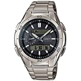 CASIO WAVE CEPTOR TITANIUM WVA-M650TD-1AER MEN'S WATCH