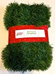 Holiday Time 50 Foot Non-Lit Green Holiday Soft Garland
