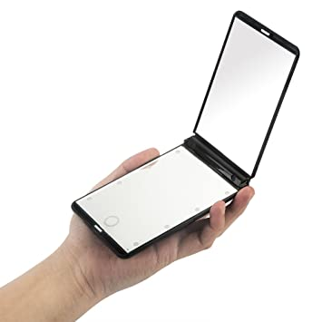 Ultra thin Led Lighted Compact Travel Makeup Mirror  1X   2X Magnification   8. Amazon com  Ultra thin Led Lighted Compact Travel Makeup Mirror