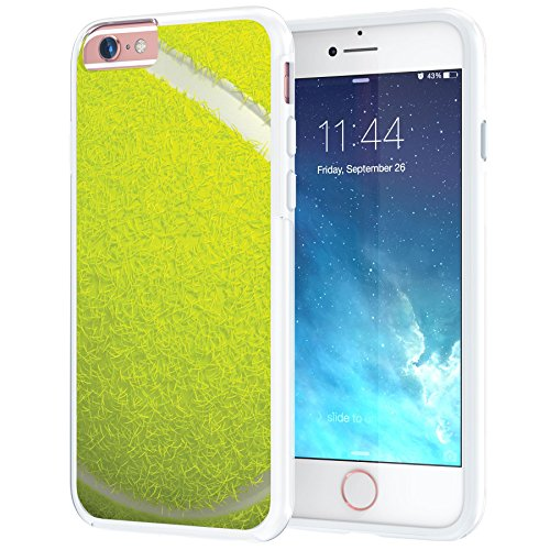 Price comparison product image iPhone 6 6s Case, True Color Tennis Ball Sports Collection Slim Hybrid Hard Back + Soft TPU Bumper Protective Durable [True Protect Series] iPhone 6 / 6s 4.7""