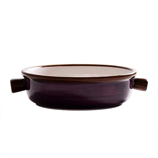 C&Q CQ Creative - Cuenco de cerámica binaural para Horno, Cuenco ...