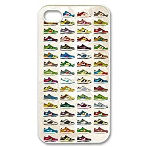 Umich Michigan Wolverines NCAA For Ipod Touch 4 Cover Dual Cover Case Nike Just Do It Case