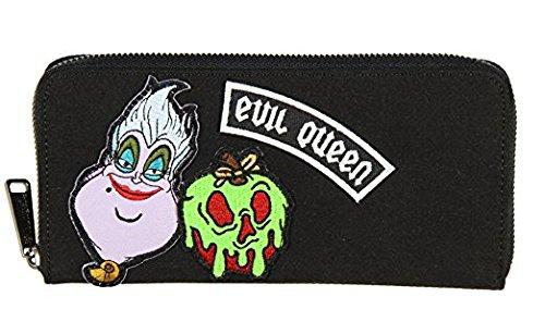 12dbe2a5cda Loungefly Disney Villains Ursula Evil Queen Patch Print Wallet