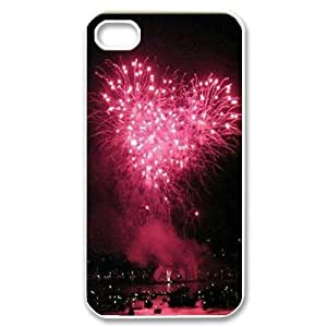 Fireworks ZLB594049 Customized Phone Case for Iphone 4,4S, Iphone 4,4S Case by icecream design