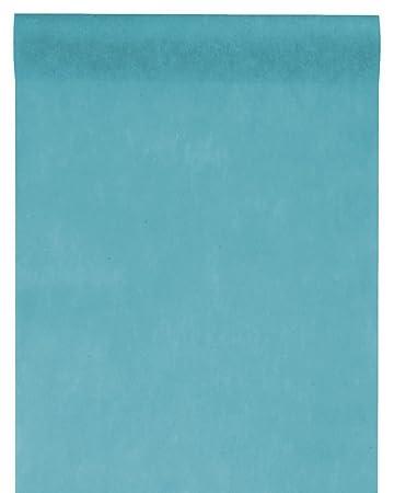 Unbekannt 10m Tischlaufer Vlies Petrol Turkis Blau Tischband