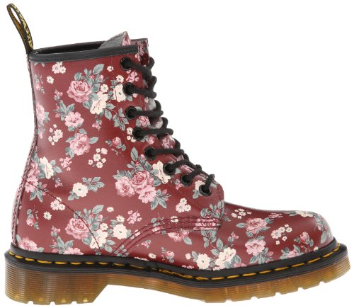 Dr. Martens - Botas militares, color Rojo (Rouge (Cherry Red))