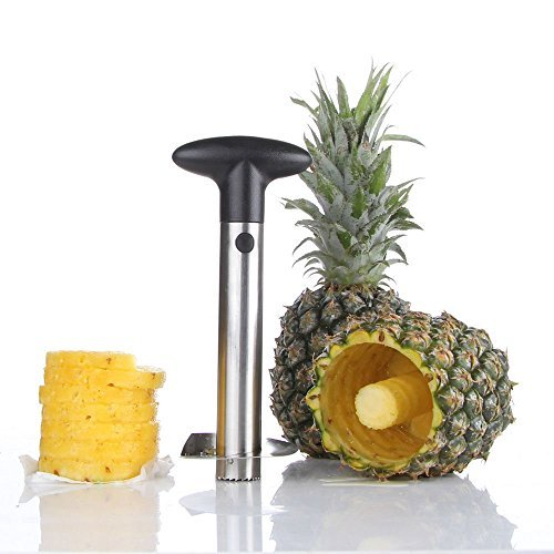 New Stainless Steel Fruit Pineapple Peeler Corer Slicer Kitchen Tool OY