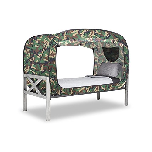 privacy pop bed tent twin camo buy online in uae toys and games products in the uae. Black Bedroom Furniture Sets. Home Design Ideas