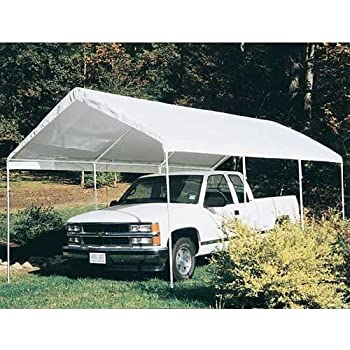 King Canopy 10 x 20 foot Universal Canopy White  sc 1 st  Amazon.com & Amazon.com : King Canopy 10 x 20 foot Universal Canopy White : Sun ...