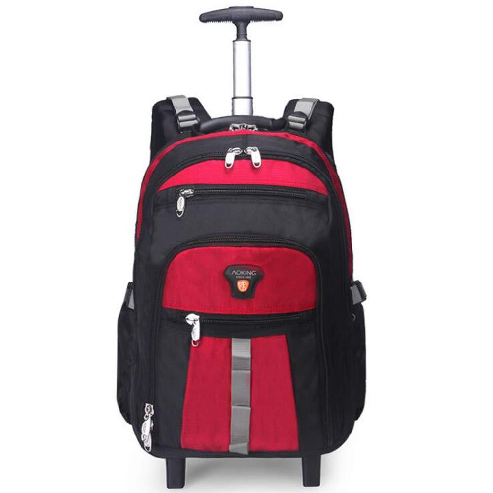 SKLLA Trolley Backpack Travel Bag Sac À Bandoulière pour Hommes Et Femmes De Grande Capacité