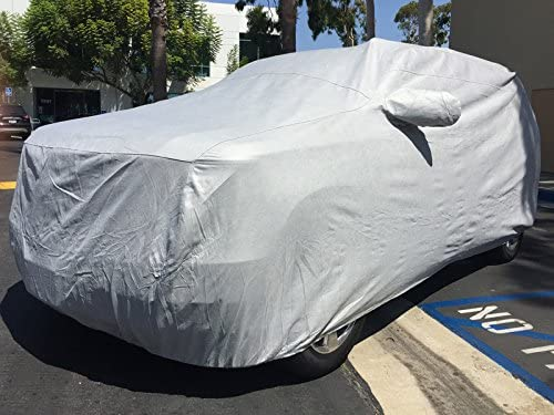 FS16271F5 Black Covercraft Custom Fit Car Cover for Select Cadillac Escalade Models Fleeced Satin