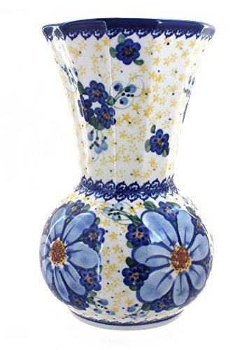 Polish Pottery Daisy Surprise Vase