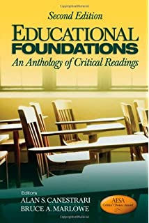 Educational foundations an anthology of critical readings volume 3 educational foundations an anthology of critical readings fandeluxe Images