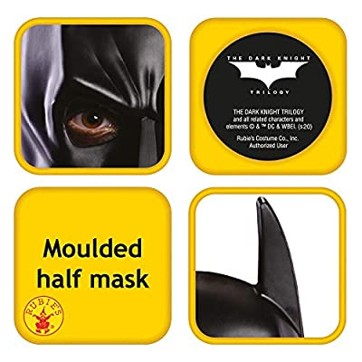 Rubie's Costume Batman Child's Chinless Vinyl Mask: Toys & Games