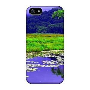 For Iphone Cases, High Quality Flower Pond For Iphone 5/5s Covers Cases