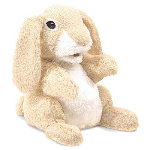 Folkmanis-Sniffing-Rabbit-Hand-Puppet-Plush