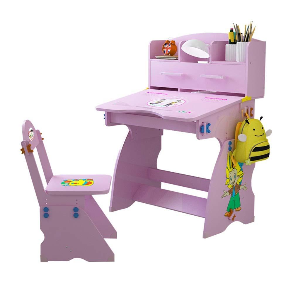 envio rapido a ti As Picture Un tamaño Set de de de escritorio y silla para niños Altura ajustable Escritorio para niños Juego de escritorio y silla para niños Escuela de estudio Mesa de trabajo de mesa de trabajo para estudiantes con almacenami  muchas sorpresas