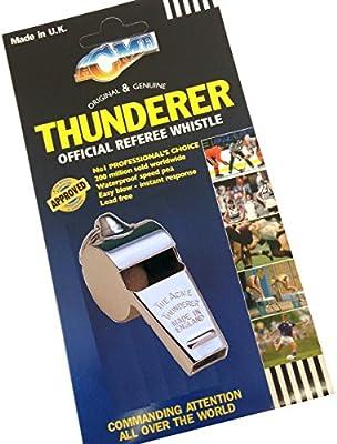 Large Football Soccer Training Hockey Acme Thunderer Whistle