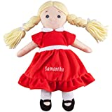 Personalized Big Sister Birthstone Doll - July