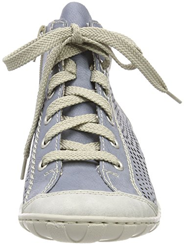 M3746 Baskets Hautes cement Bleu Femme fog adria Rieker ApqPP