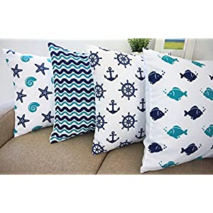 51enxQ766yL._SS300_ 100+ Coastal Throw Pillows & Beach Throw Pillows