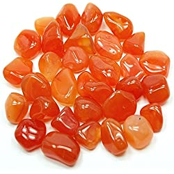 "Tumbled Carnelian ""Extra"" (5/8"" - 1"") - 1pc."