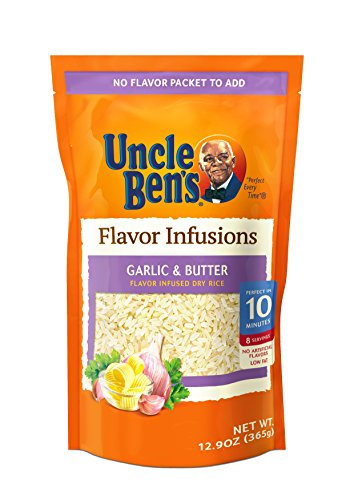(UNCLE BEN'S Flavor Infusions: Garlic Butter (6pk))