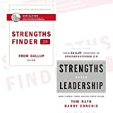 img - for Tom Rath StrengthsFinder 2.0 and Strengths Based Leadership 2 Books Bundle Collection book / textbook / text book