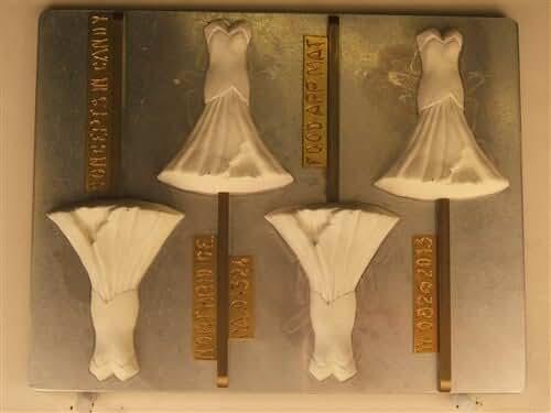 Mermaid Dress W082 Wedding Chocolate Candy Mold