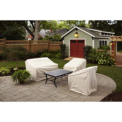 Elemental Tan Polyester Weatherproof Oversize Patio Chair Cover by Elemental Outdoor Covers (Image #5)