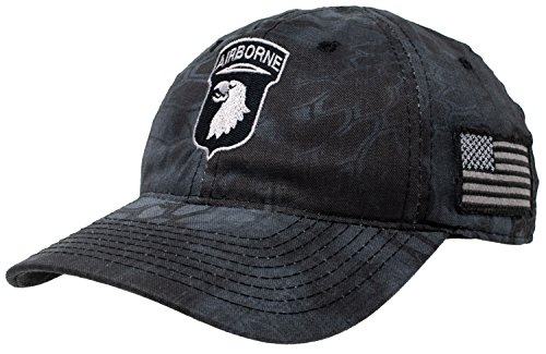 Ann Arbor T-shirt Co. 101st Airborne Division | Camo Military Hat Cap Tactical Army Veteran Vet ()