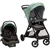 Safety 1st Smooth Ride Travel System with OnBoard 35 LT Infant Car Seat - Moss Green