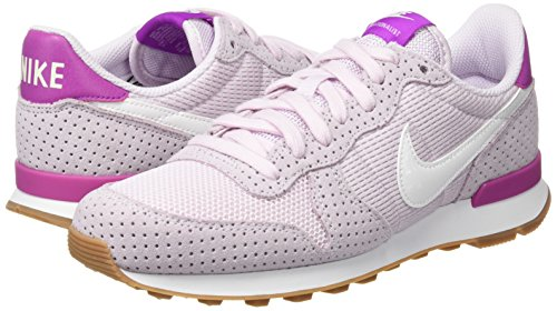 gum bleached Da Wmns Mid Lilac White Corsa Internationalist summit Bianco Brown Scarpe Nike Donna qPSR00n