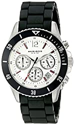 Akribos XXIV Men's AK577WT Essential Diver's Chronograph Stainless Steel Bracelet Watch